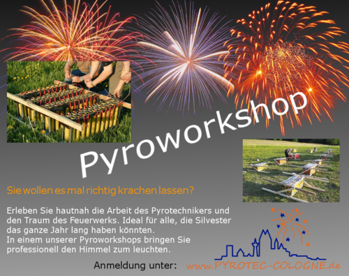 Pyrotechnik Workshop