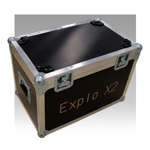Explo Flight Case Wave-Flamer